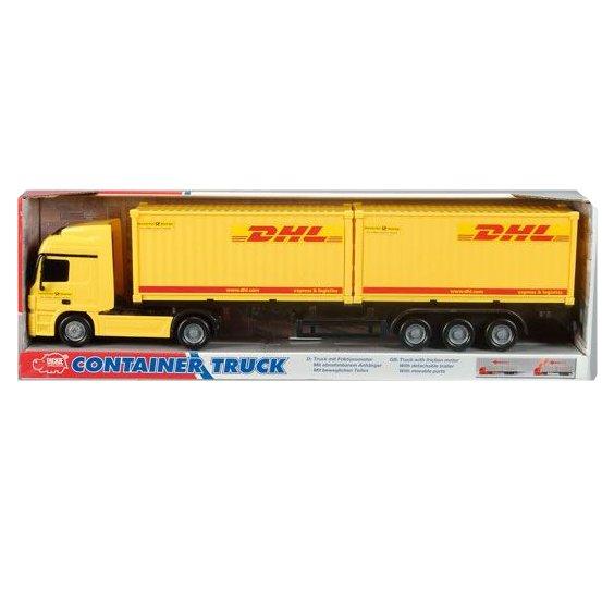 Dickie Nákladní auto Express 38cm - žlutý DHL