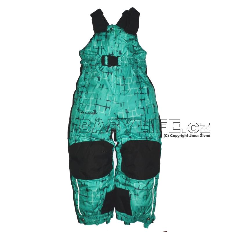 LOAP® Funkční oteplovačky velikost 104 TEKO zelené s potiskem
