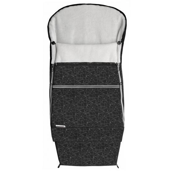 EMITEX® Fusak Combi 3v1 EXTRA - šedý/černý