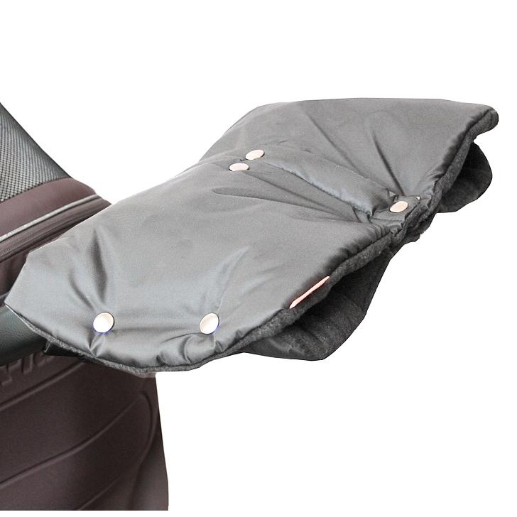 Emitex® Rukávník DUO 2v1 - Tmavě šedý (nový typ s druky)