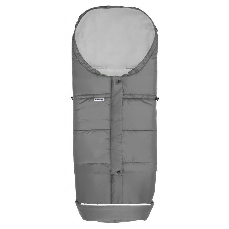 Fusak Emitex MONTI 3v1 zimní pytel Šedý/šedý