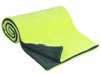 Emitex® Deka fleece 70x100 cm - Antracit/limeta